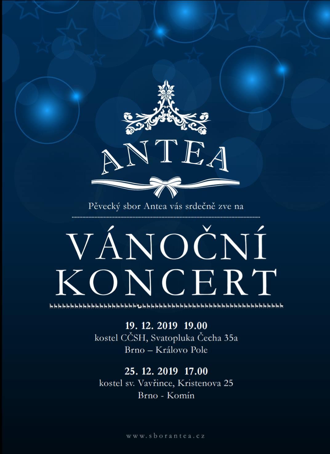 Vánoční koncert ANTEA